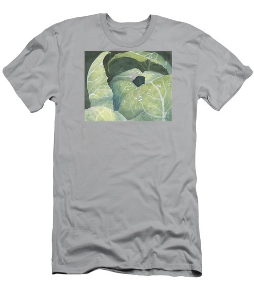 Cold Crop Men's T-Shirt (Slim Fit) by Phyllis Howard