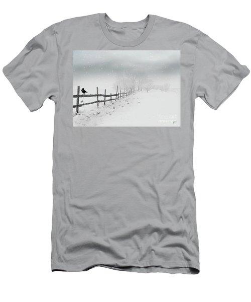 Cold Crow Men's T-Shirt (Athletic Fit)