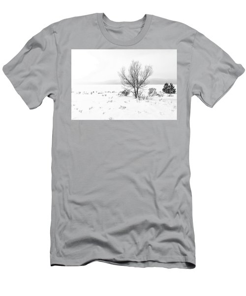 Cold Loneliness Men's T-Shirt (Slim Fit) by Hayato Matsumoto