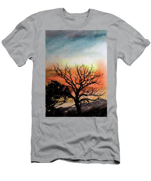 Cold Nightfall  Men's T-Shirt (Slim Fit) by R Kyllo