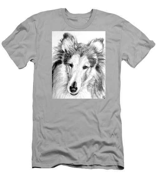 Collie Rough Lover Men's T-Shirt (Athletic Fit)