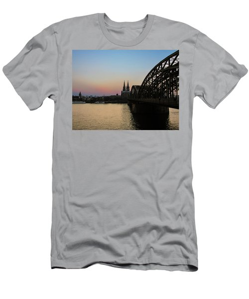 Cologne - Germany Men's T-Shirt (Slim Fit) by Cesar Vieira