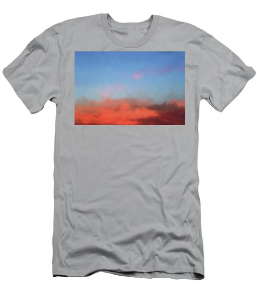 Color Abstraction Xlvii - Sunset Men's T-Shirt (Slim Fit) by David Gordon