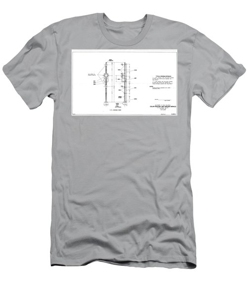 Color Position Light Ground Signals Men's T-Shirt (Athletic Fit)