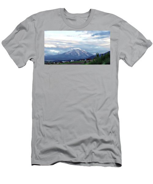 Men's T-Shirt (Slim Fit) featuring the photograph Colorado 2006 by Jerry Battle