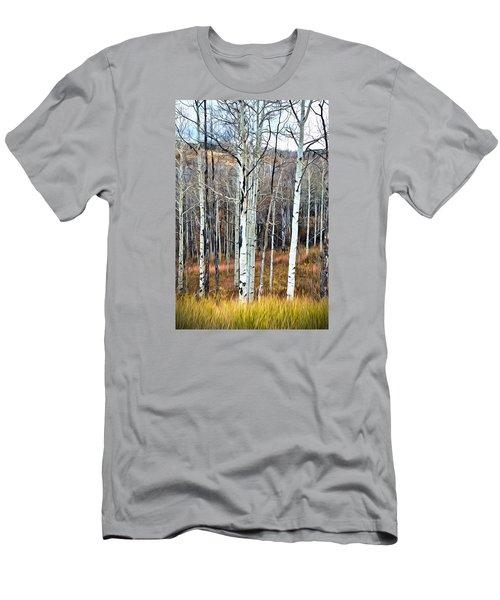 Colorado Fall Aspen Men's T-Shirt (Athletic Fit)