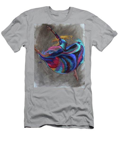 Colorful Dancer Men's T-Shirt (Athletic Fit)