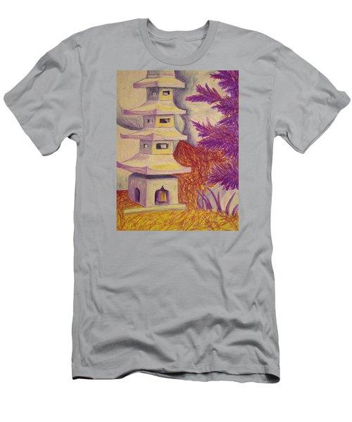 Colorful Garden Men's T-Shirt (Athletic Fit)