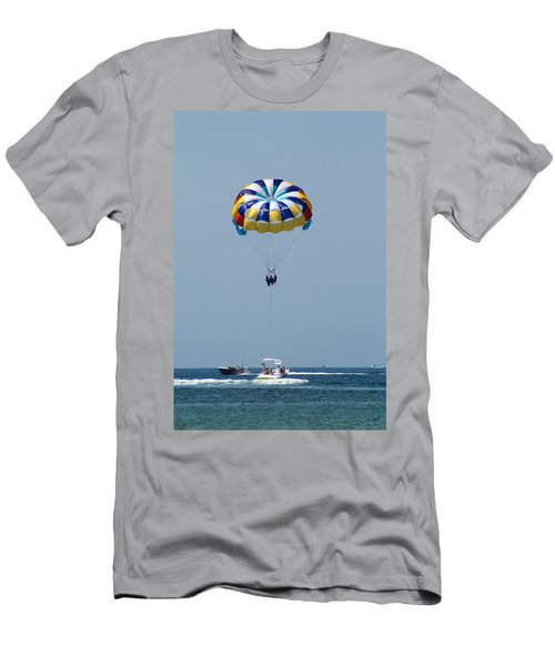 Colorful Parasailing Men's T-Shirt (Athletic Fit)