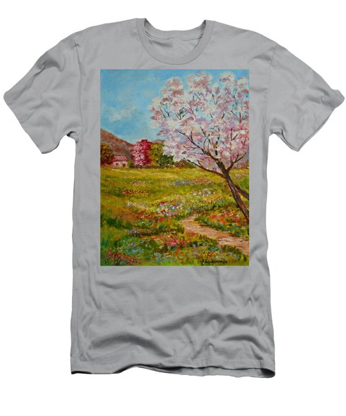 Colors Of Spring Men's T-Shirt (Athletic Fit)