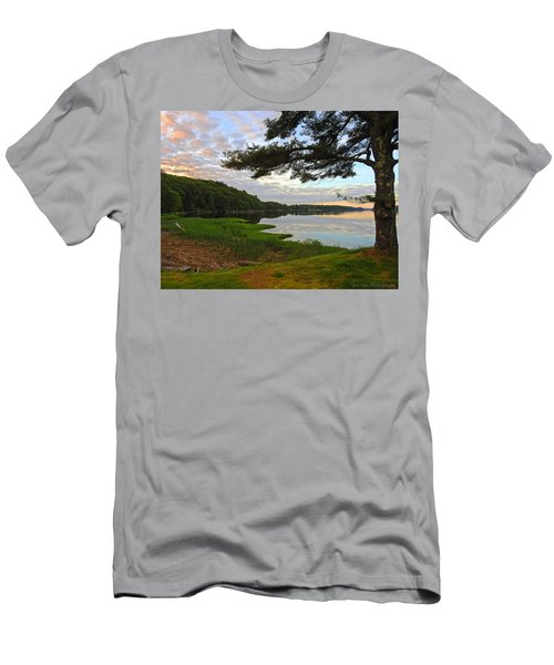 Colors Of The River Men's T-Shirt (Athletic Fit)