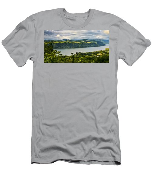 Columbia Gorge Scenic Area Men's T-Shirt (Athletic Fit)