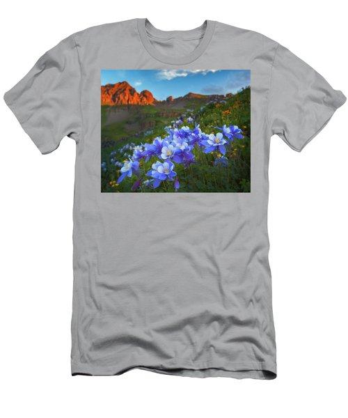 Columbine Sunrise Men's T-Shirt (Athletic Fit)