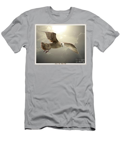 Come Fly With Me Men's T-Shirt (Slim Fit) by Mariarosa Rockefeller