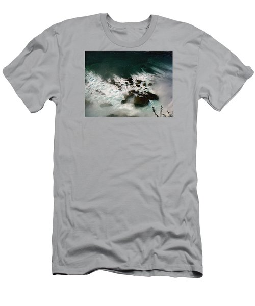 Men's T-Shirt (Slim Fit) featuring the photograph Coming Out by Harsh Malik