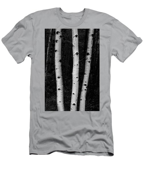 Men's T-Shirt (Athletic Fit) featuring the photograph Coming Out Of Darkness by James BO Insogna