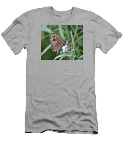 Common Wood Nymph Men's T-Shirt (Athletic Fit)