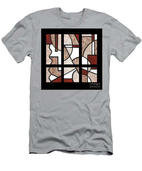 Compartments Six Panels Men's T-Shirt (Athletic Fit)