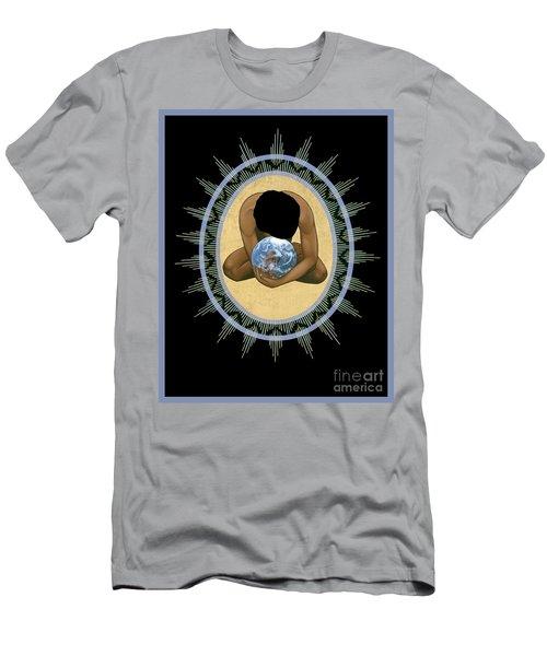 Compassion Mandala - Rlcmm Men's T-Shirt (Athletic Fit)