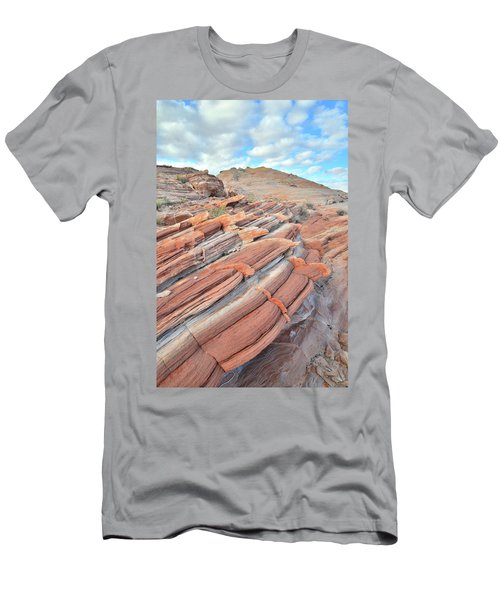 Concentric Circles Of Sandstone At Valley Of Fire Men's T-Shirt (Athletic Fit)