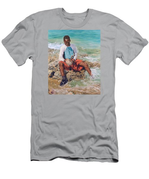Conch Boy II Men's T-Shirt (Athletic Fit)