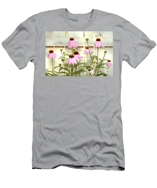 Coneflower Patch Men's T-Shirt (Athletic Fit)