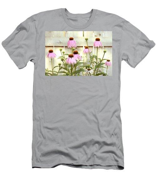 Coneflower Patch Men's T-Shirt (Athletic Fit)