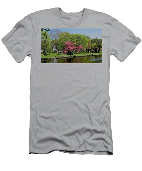 Men's T-Shirt (Slim Fit) featuring the photograph Connecticut by John Scates