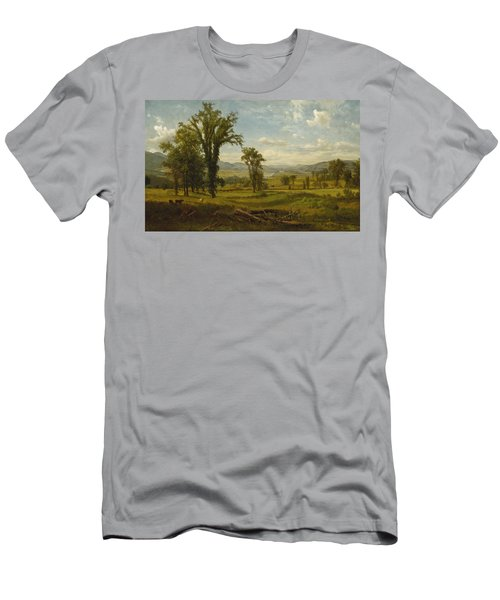 Connecticut River Valley, Claremont, New Hampshire Men's T-Shirt (Athletic Fit)