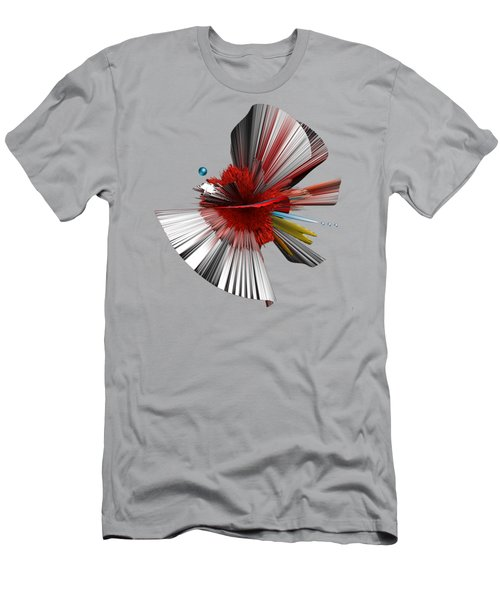 Consciousness Of The Inanimate Painting As A Spherical Depth Map. C Men's T-Shirt (Athletic Fit)