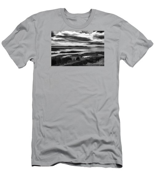 Cool Lakes Iceland Men's T-Shirt (Athletic Fit)