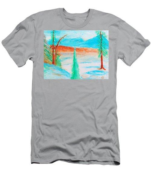 Cool Landscape Men's T-Shirt (Athletic Fit)