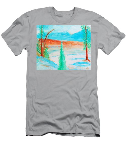 Cool Landscape Men's T-Shirt (Athletic Fit)