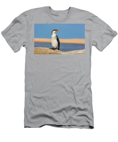 Men's T-Shirt (Athletic Fit) featuring the photograph Cormorant by Chris Cousins