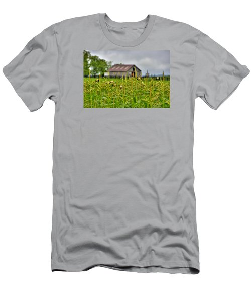 Corn Tops Men's T-Shirt (Athletic Fit)