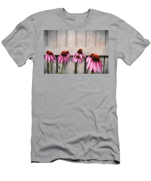 Coneflower Couples Men's T-Shirt (Athletic Fit)