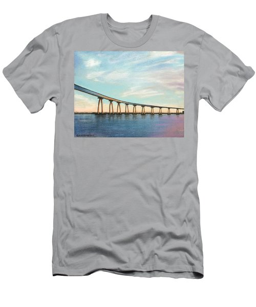 Coronado Bridge Sunset A Men's T-Shirt (Athletic Fit)