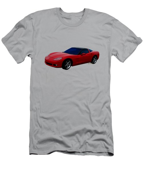 Corvette C-6  2005-2013 Men's T-Shirt (Athletic Fit)