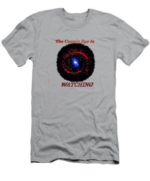 Cosmic Eye 2 Men's T-Shirt (Athletic Fit)