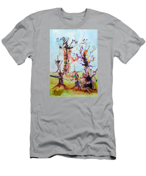 Cosmic Tree Family Men's T-Shirt (Athletic Fit)