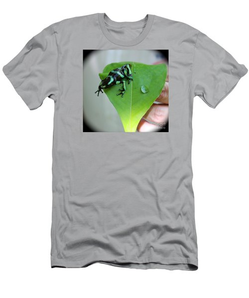 Costa Rican Poison Dart Frog Men's T-Shirt (Athletic Fit)