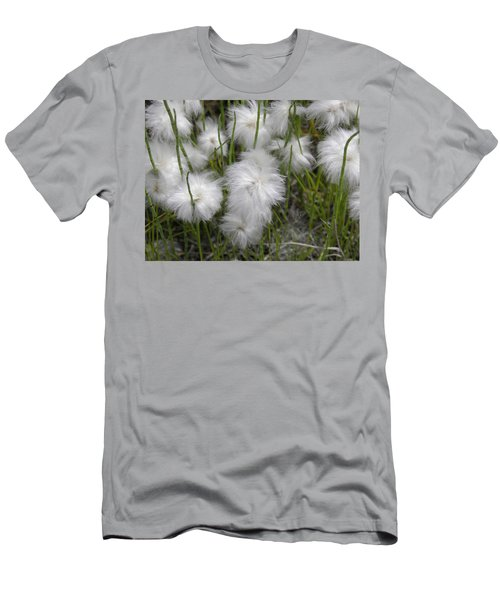 Men's T-Shirt (Athletic Fit) featuring the photograph Cottongrass by Fran Riley