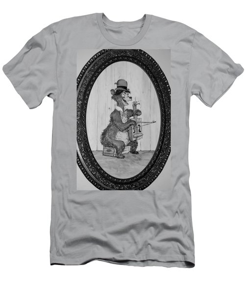 Country Bear Men's T-Shirt (Slim Fit) by Rob Hans