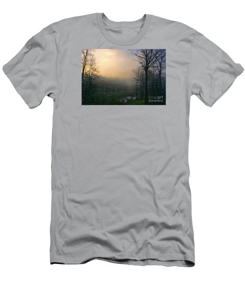 Men's T-Shirt (Slim Fit) featuring the photograph Country Sketch by Mim White