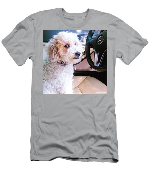 Cousin Theo Is Behind The #wheel And Men's T-Shirt (Athletic Fit)