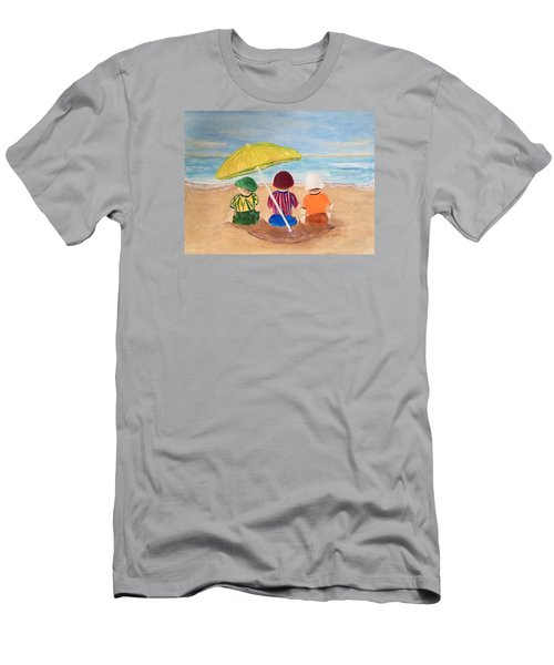 Cousins At The Beach Men's T-Shirt (Athletic Fit)