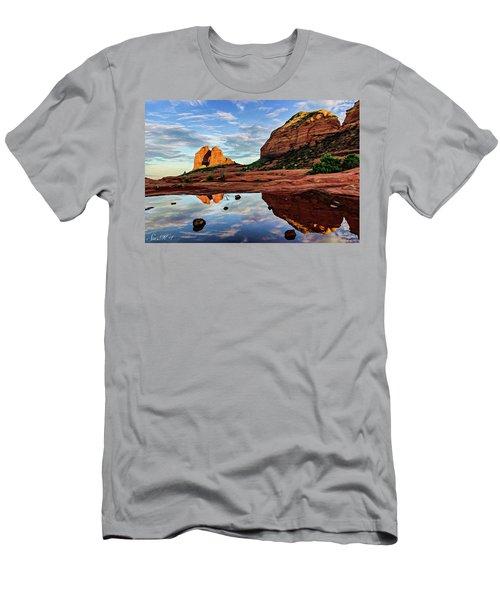Cowpie 07-081 Men's T-Shirt (Slim Fit) by Scott McAllister