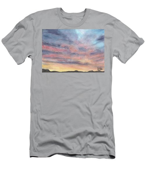 Coyote Sunset Men's T-Shirt (Athletic Fit)