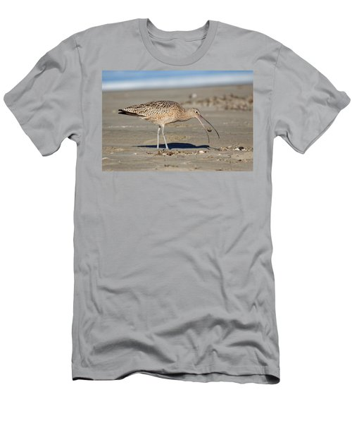 Crab Toss - Curlew Men's T-Shirt (Athletic Fit)
