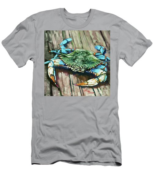 Crabby Blue Men's T-Shirt (Athletic Fit)